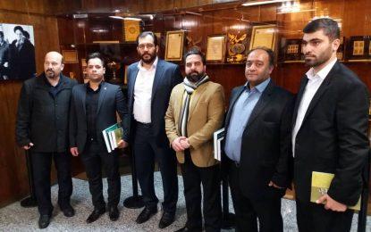 بازدید استاد ابراهیم صنوبر ازموزه بنیانگذار کبیر انقلاب اسلامی