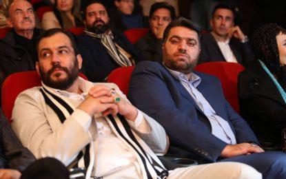 حضوراستاد ابراهیم صنوبردراختتامیه چهارمین دوره جشنواره بین المللی فیلم پرواز