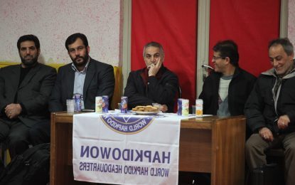 بازدید استاد ابراهیم صنوبر پدر صلح ایران از سبک ورزشی رزمی هاپکیدو
