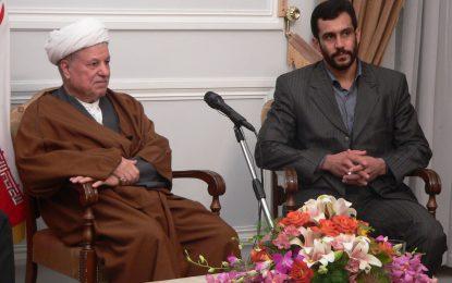 دیدار استاد ابراهیم صنوبر پدر صلح ایران با مرحوم حضرت آیت الله هاشمی رفسنجانی