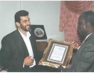 دیدارهای استاد ابراهیم صنوبر پدر صلح ایران با برخی از سفرا و دیپلماتهای کشورهای مختلف