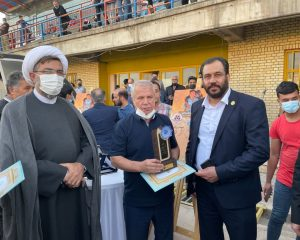 اعطای نشان صلح موسسه سفیران صلح به مقام شامخ شهید علی لندی